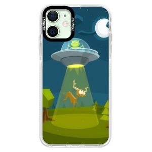 Silikonové pouzdro Bumper iSaprio - Alien 01 na mobil Apple iPhone 12