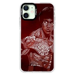 Silikonové pouzdro Bumper iSaprio - Bruce Lee na mobil Apple iPhone 12