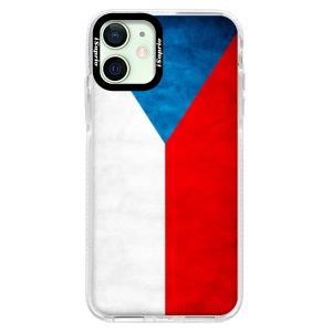 Silikonové pouzdro Bumper iSaprio - Czech Flag na mobil Apple iPhone 12