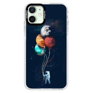 Silikonové pouzdro Bumper iSaprio - Balloons 02 na mobil Apple iPhone 12