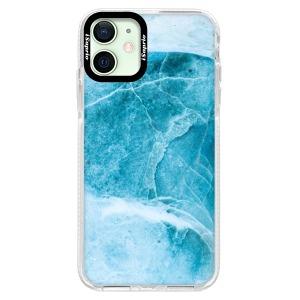 Silikonové pouzdro Bumper iSaprio - Blue Marble na mobil Apple iPhone 12