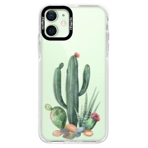 Silikonové pouzdro Bumper iSaprio - Cacti 02 na mobil Apple iPhone 12