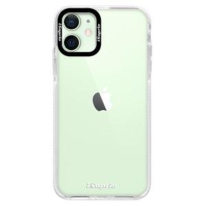 Silikonové pouzdro Bumper iSaprio - 4Pure - čiré bez potisku na mobil Apple iPhone 12