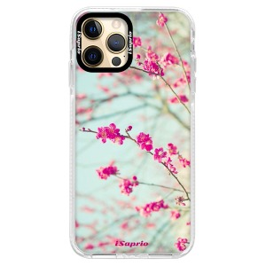 Silikonové pouzdro Bumper iSaprio - Blossom 01 na mobil Apple iPhone 12 Pro