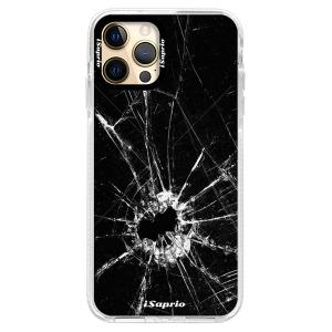Silikonové pouzdro Bumper iSaprio - Broken Glass 10 na mobil Apple iPhone 12 Pro