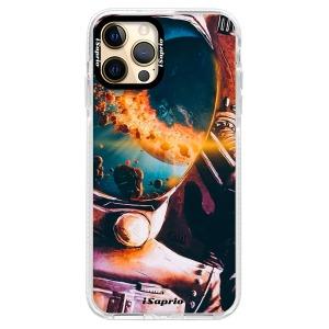 Silikonové pouzdro Bumper iSaprio - Astronaut 01 na mobil Apple iPhone 12 Pro