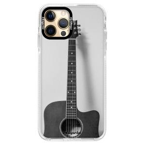 Silikonové pouzdro Bumper iSaprio - Guitar 01 na mobil Apple iPhone 12 / Apple iPhone 12 Pro - poslední kousek za tuto cenu