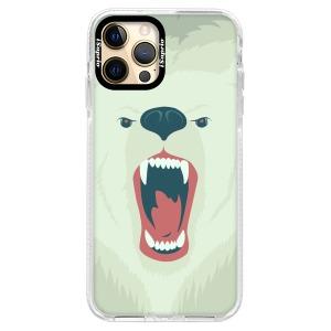 Silikonové pouzdro Bumper iSaprio - Angry Bear na mobil Apple iPhone 12 Pro