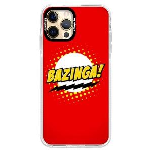Silikonové pouzdro Bumper iSaprio - Bazinga 01 na mobil Apple iPhone 12 Pro