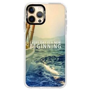 Silikonové pouzdro Bumper iSaprio - Beginning na mobil Apple iPhone 12 Pro