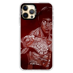 Silikonové pouzdro Bumper iSaprio - Bruce Lee na mobil Apple iPhone 12 Pro