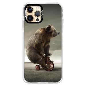 Silikonové pouzdro Bumper iSaprio - Bear 01 na mobil Apple iPhone 12 Pro
