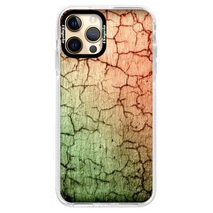 Silikonové pouzdro Bumper iSaprio - Cracked Wall 01 na mobil Apple iPhone 12 Pro