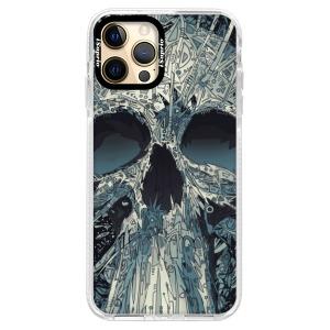 Silikonové pouzdro Bumper iSaprio - Abstract Skull na mobil Apple iPhone 12 Pro