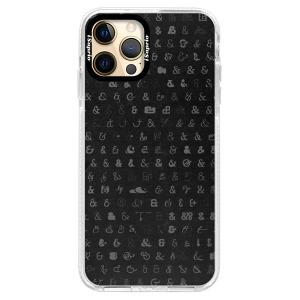 Silikonové pouzdro Bumper iSaprio - Ampersand 01 na mobil Apple iPhone 12 Pro