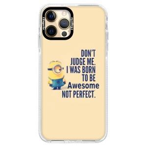 Silikonové pouzdro Bumper iSaprio - Be Awesome na mobil Apple iPhone 12 Pro