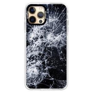 Silikonové pouzdro Bumper iSaprio - Cracked na mobil Apple iPhone 12 Pro