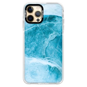 Silikonové pouzdro Bumper iSaprio - Blue Marble na mobil Apple iPhone 12 Pro