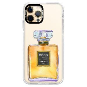 Silikonové pouzdro Bumper iSaprio - Chanel Gold na mobil Apple iPhone 12 Pro