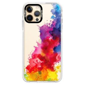Silikonové pouzdro Bumper iSaprio - Color Splash 01 na mobil Apple iPhone 12 Pro