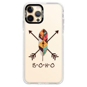 Silikonové pouzdro Bumper iSaprio - BOHO na mobil Apple iPhone 12 Pro