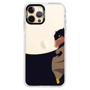 Silikonové pouzdro Bumper iSaprio - BaT Comics na mobil Apple iPhone 12 Pro