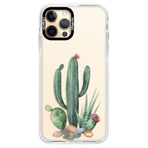 Silikonové pouzdro Bumper iSaprio - Cacti 02 na mobil Apple iPhone 12 Pro