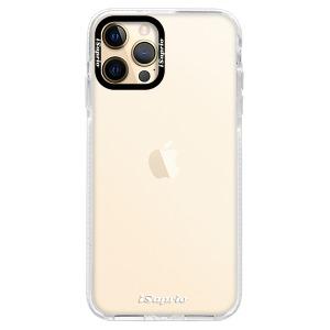 Silikonové pouzdro Bumper iSaprio - 4Pure - čiré bez potisku na mobil Apple iPhone 12 Pro