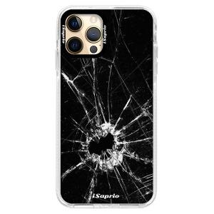 Silikonové pouzdro Bumper iSaprio - Broken Glass 10 na mobil Apple iPhone 12 Pro Max