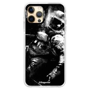 Silikonové pouzdro Bumper iSaprio - Astronaut 02 na mobil Apple iPhone 12 Pro Max