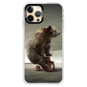 Silikonové pouzdro Bumper iSaprio - Bear 01 na mobil Apple iPhone 12 Pro Max