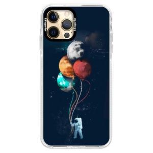 Silikonové pouzdro Bumper iSaprio - Balloons 02 na mobil Apple iPhone 12 Pro Max