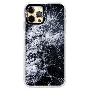 Silikonové pouzdro Bumper iSaprio - Cracked na mobil Apple iPhone 12 Pro Max