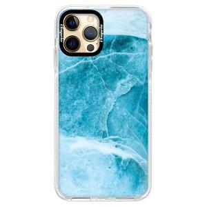 Silikonové pouzdro Bumper iSaprio - Blue Marble na mobil Apple iPhone 12 Pro Max