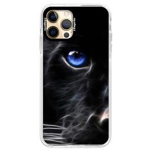 Silikonové pouzdro Bumper iSaprio - Black Puma na mobil Apple iPhone 12 Pro Max
