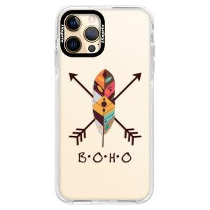 Silikonové pouzdro Bumper iSaprio - BOHO na mobil Apple iPhone 12 Pro Max
