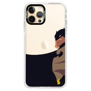 Silikonové pouzdro Bumper iSaprio - BaT Comics na mobil Apple iPhone 12 Pro Max
