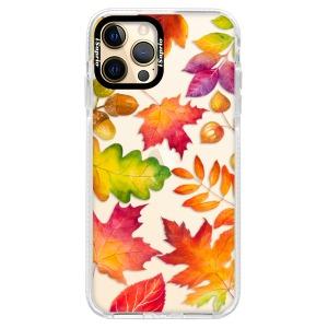 Silikonové pouzdro Bumper iSaprio - Autumn Leaves 01 na mobil Apple iPhone 12 Pro Max