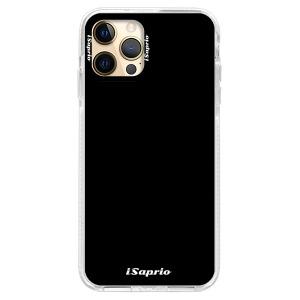 Silikonové pouzdro Bumper iSaprio - 4Pure - černé na mobil Apple iPhone 12 Pro Max