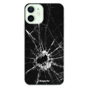 Odolné silikonové pouzdro iSaprio - Broken Glass 10 na mobil Apple iPhone 12 Mini