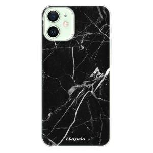 Odolné silikonové pouzdro iSaprio - Black Marble 18 na mobil Apple iPhone 12 Mini
