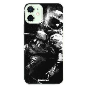 Odolné silikonové pouzdro iSaprio - Astronaut 02 na mobil Apple iPhone 12 Mini
