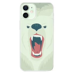 Odolné silikonové pouzdro iSaprio - Angry Bear na mobil Apple iPhone 12 Mini