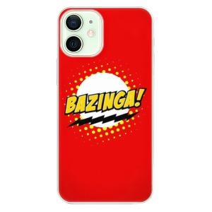 Odolné silikonové pouzdro iSaprio - Bazinga 01 na mobil Apple iPhone 12 Mini