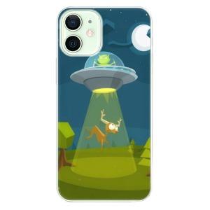 Odolné silikonové pouzdro iSaprio - Alien 01 na mobil Apple iPhone 12 Mini