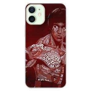 Odolné silikonové pouzdro iSaprio - Bruce Lee na mobil Apple iPhone 12 Mini