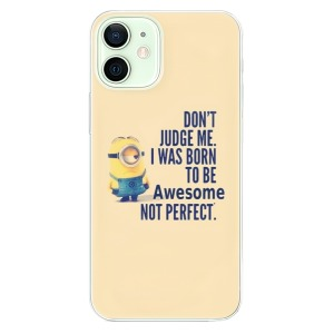 Odolné silikonové pouzdro iSaprio - Be Awesome na mobil Apple iPhone 12 Mini