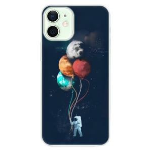 Odolné silikonové pouzdro iSaprio - Balloons 02 na mobil Apple iPhone 12 Mini
