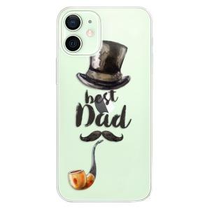 Odolné silikonové pouzdro iSaprio - Best Dad na mobil Apple iPhone 12 Mini