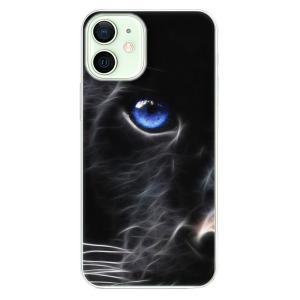 Odolné silikonové pouzdro iSaprio - Black Puma na mobil Apple iPhone 12 Mini